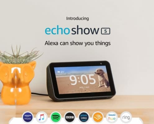 Alexa Displays Echo Show 5