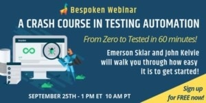 Bespoken Crash Course Webinar