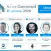 Voice Connected Business 2020 Banner Europe